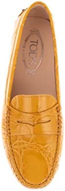Tod's Luxury Fashion Damen XXW00G00010XLXG407 Gelb Leder Mokassins   Herbst Winter 20  0gCq6