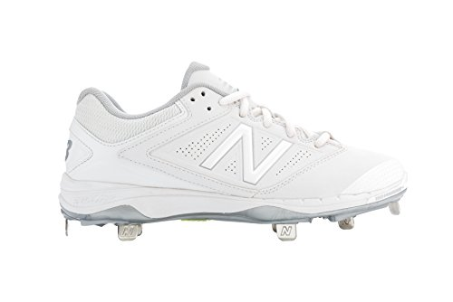 New Balance White Metal - Fastpitch Cleats Metal