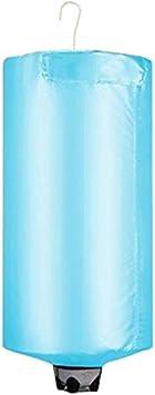 Secador portátil de viaje caliente eléctrico pequeño plegable del hogar del calentador de aire 500W acero inoxidable 5 kg 240 min 360deg;Silencio del ventilador de ventilación del agujero, con bolsa d
