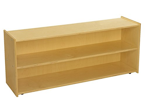 Childcraft ABC Furnishings 2-Shelf Storage Unit, 48 x 13 x 20 Inches