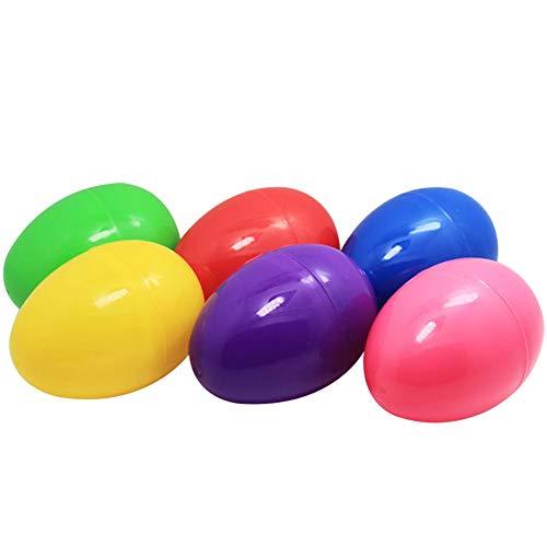 Lumanuby Bunte Ostereier aus Kunststoff, zum Basteln, für Kinder, süße Spielzeuge, für Hochzeit, Kinderspielzeug…