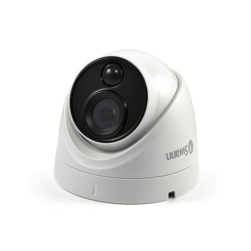 Swann 4K Dome DVR Security Camera with Heat & Motion Sensing + Night Vision by Swann