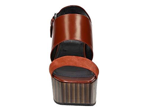 Compensées Marron Femme 320983hwec18fv Céline Chaussures Cuir vqFpZWHX