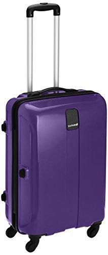 Safari Thorium Polycarbonate 66 (cms) Purple Hardsided Suitcase (Thorium-Sharp-Purple-65-4WH)