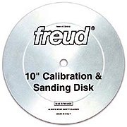 FREUD 10 In. Calibration & Sanding D by Freud