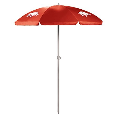 NCAA Arkansas Razorbacks Portable Sunshade Umbrella by Picnic Time by PICNIC TIME