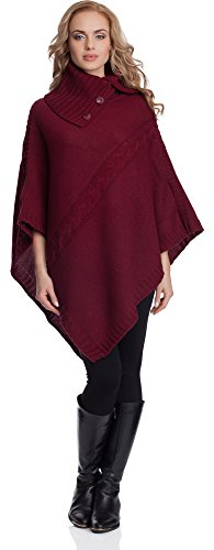 Bordeaux Style Donna Poncho 2v3t1 Merry xApSRqx