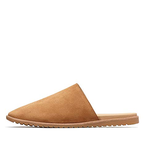 Sorel - Women's Ella Mule Slip On Shoes, Suede, Camel Brown, 9.5 M US