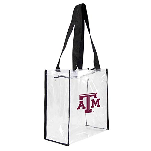 NCAA Texas A&M Aggies Clear Square Stadium Tote