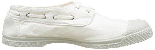 Bensimon Tennis Bateau Pat - Botas Mujer Blanc (Blanc)