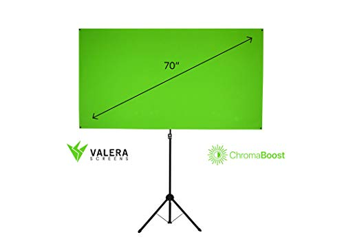 Valera Explorer 90: 2-in-1 Green Screen | 90 inch | Portrait and