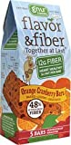 Gnu Foods Flavor and Fiber Bars Orange Cranberry -- 5 Bars