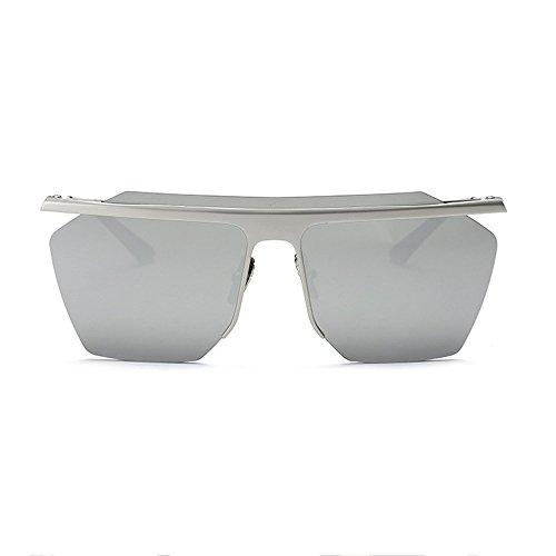 Gafas Sol Y Deportes Silver del Femeninas Sol De Hombres Gafas Los De De Clip Gafas Silver Femeninas Caballero Salvajes Masculinas Gafas Los De Sol Marea del De AqHxOBFxn