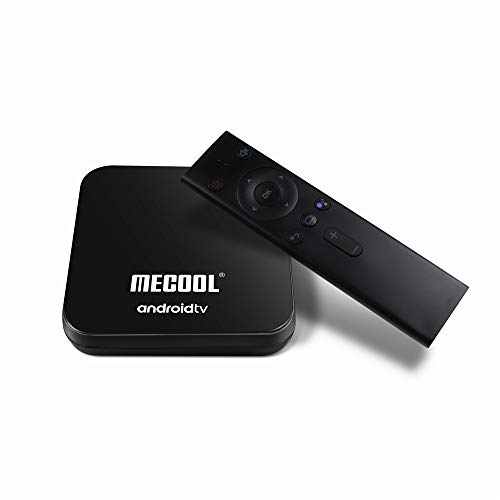 MECOOL KM9 PRO Google Certified The Real Android TV OS Android 9.0 Pie DDR4 4GB RAM 32GB ROM with Voice Search Remote Control Dual Band WiFi 2.4G 5G 4K UHD HDR HDCP 2.2 OTA Supported