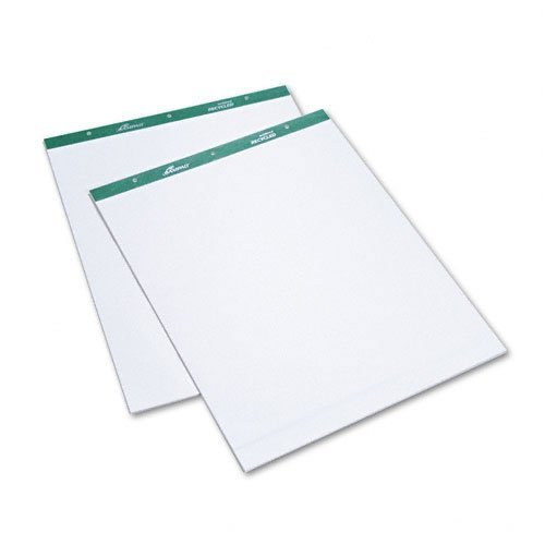Flip Chart Pads, Unruled, 20 x 25-1/2, White, Two 50-Sheet Pads/Pack by Ampad by Ampad
