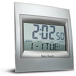 Cyberguys Ken-Tech Home Office School Decorative Large Digital Atomic Alarm Clock