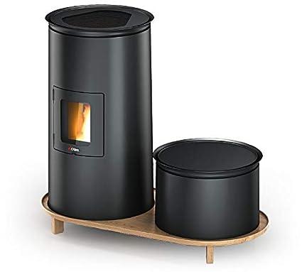 estufas Cadel bistro3 Lounge estufa pellets Design 6,5kw 7016054
