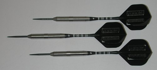 Grip Fixed Point Darts - Vi Skin Rippers 25 grams, 90% Tungsten, SKIN RIPPER Grip Fixed Point Darts