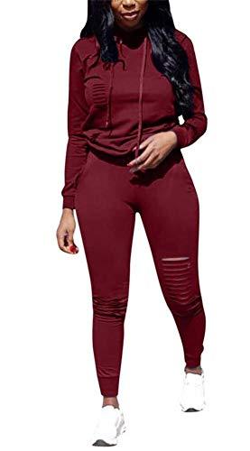 Long Sleeve Sweatshirt Hoodie Long Pants Jumpers Playsuits ()