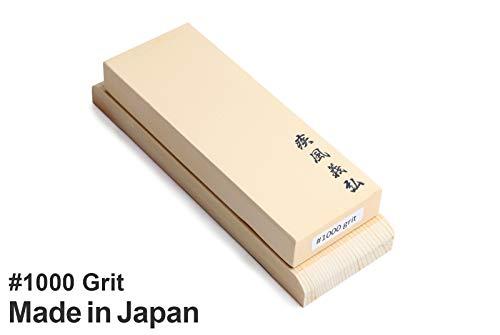 Yoshihiro Toishi Japanese Whetstone Knife Sharpening Water Stones Sushi Chef Tool: #1000 (
