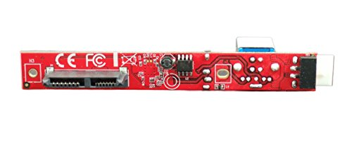 Ableconn IUSB3SAOD SATA Slimline Optical Drive (ODD) to USB 3.0 Type-B (F) Mini Vertical Adapter Board - Convert a Slim SATA Optical Drive to a USB 3.0 ODD Drive by Ableconn (Image #3)