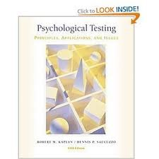 Download Psychological Testing: PRINCIPLES, APPLICATIONS, & ISSUES