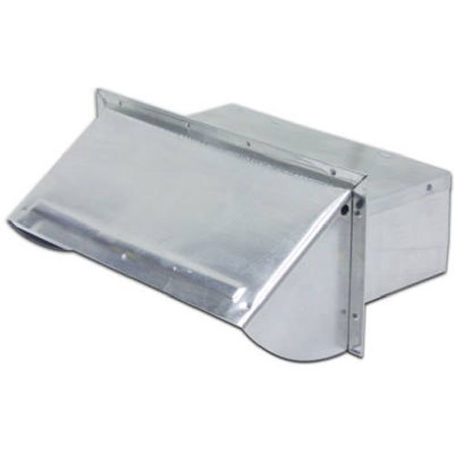 Lambro Ind. 3-1/4x10 Aluminum Wall Cap 106R Brand change to:Lambro Ind.