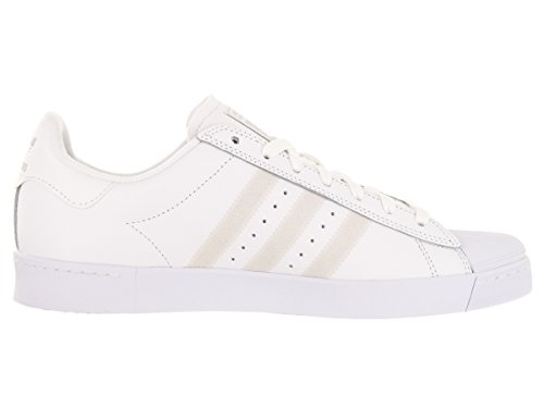 adidas Originals Herren Superstar Vulc ADV Schuhe Ftwht / Ftwht / Silvmt