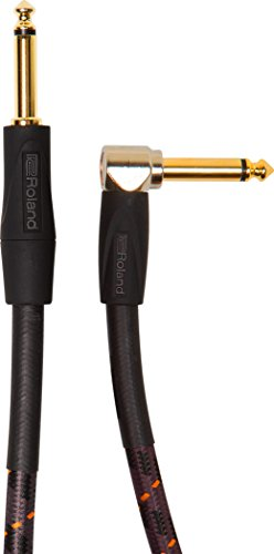 Roland 5-foot Instrument Cable, Angled/Straight 1/4