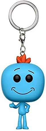 Funko Pop Rick And Morty Keychain Meeseeks Pickle Rick Snowball UK Seller
