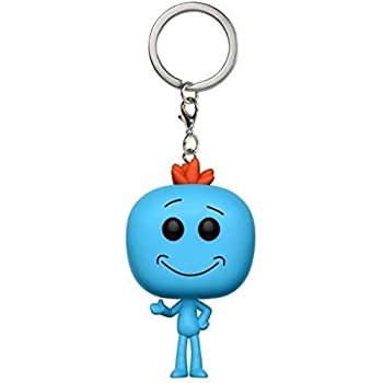 Funko Pop Keychain Rick and Morty Meeseeks Action Figure