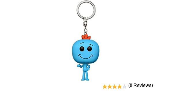 Funko-12921 Pocket Keychain: Rick & Morty: Mr. Meeseeks (12921