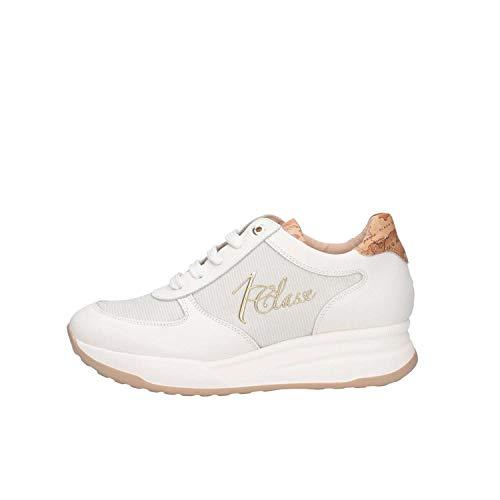 Sneakers 1 Bianco Classe Donna X857 0490 0294 Alviero Martini 8vqxwY55f