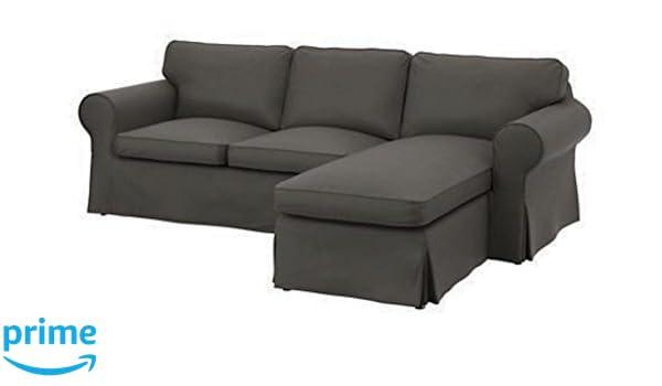 Funda de repuesto para sofá Ektorp de 2 plazas con chaise ...