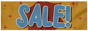 Nostalgia Burst Heavy-Duty Outdoor Vinyl Banner Sale CGSignLab 12x4
