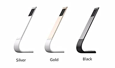 SOLMORE Dimmable Touch LED Desk Lamp / Night Light,Touch-Sensitive Control Panel ,5V/1AUSB Charging Port For Reading/Studying/Relaxation/Bedtime