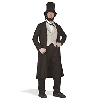 Abraham Lincoln Deluxe Adult Costume Size Medium