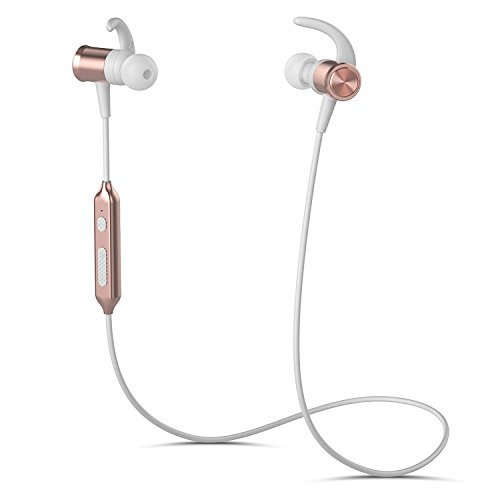 KLOKOL Bluetooth Headphones 9 Hrs Playtime Wireless Sports Running CVC 6.0 Noise Cancelling Sweatproof Magnetic Design Cordless Earbuds in-Ear for Gym Compatible with iPhone Android