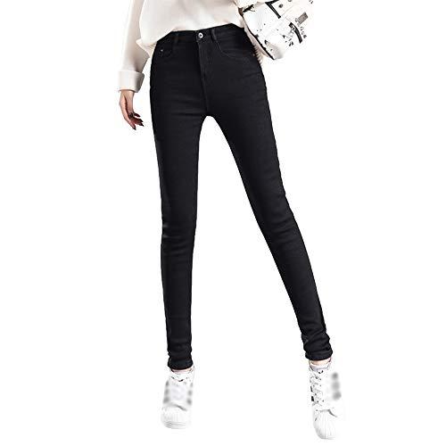Jean Style03 Velours Taille Pour Pantalon Épaississement Femme Haute D'hiver En Bozevon ZRqHEw