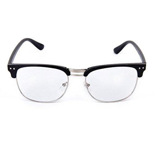 Lunettes Style Prettyia Cadre Noir Unisexe Spectacles P Mode Lunettes Vintage dYIdqB