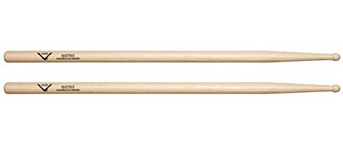 Vater 5A Matrix Wood Tip Hickory Drumsticks, Pair ()