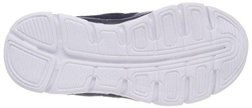 KangaROOS Unisex-Kinder K-Reg Sneaker Blau (Dk Navy/Lime)