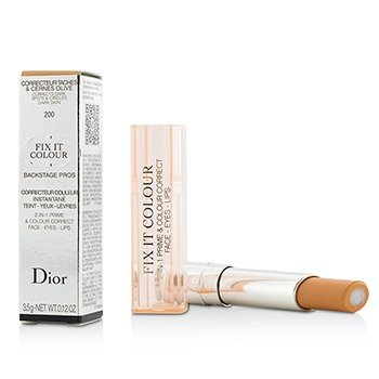Christian Dior Concealer - Christian Dior Fix It Colour 2 In 1 Prime & Colour Correct - # 200 Apricot 3.5g/0.12oz