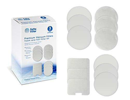 - Fette Filter - Vacuum Filters Compatible with Shark Navigator Models NV22, NV22L, NV26, NV27, UV400. Compare to Part # XF22. 3-Pack of Foam and Felt Filters