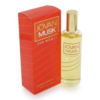 Jovan Musk By JOVAN FOR WOMEN 3.25 oz Cologne Concentrate Spray by JOVAN