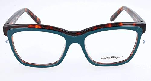 Salvatore Ferragamo Rx Eyeglasses - SF2749 324 - Petrol Havana  (53-16-140)
