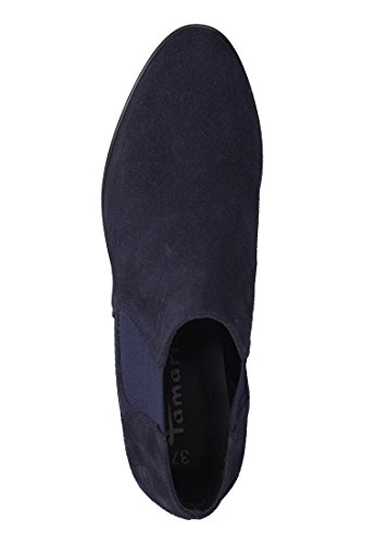 Tamaris Women's Court Shoes Blue Navy Suede Navy Suede 3hAxiTMkN