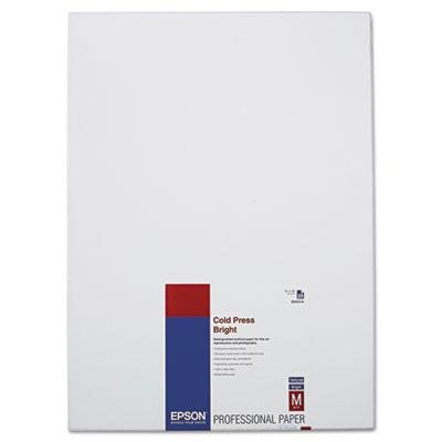 Brand New Epson Cold Press Bright Fine Art Paper 13 X 19 Bright White 25 Sheets by Original Equipment Manufacture
