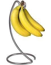 Silver Banana Tree Holders Ripen Fruit Evenly Prevents Bruising & Spoiling Silver Finish