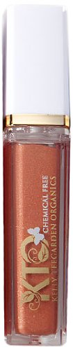 Kelly Teegarden Organics Lip Gloss, Krista Auburn Coral, 9 ML